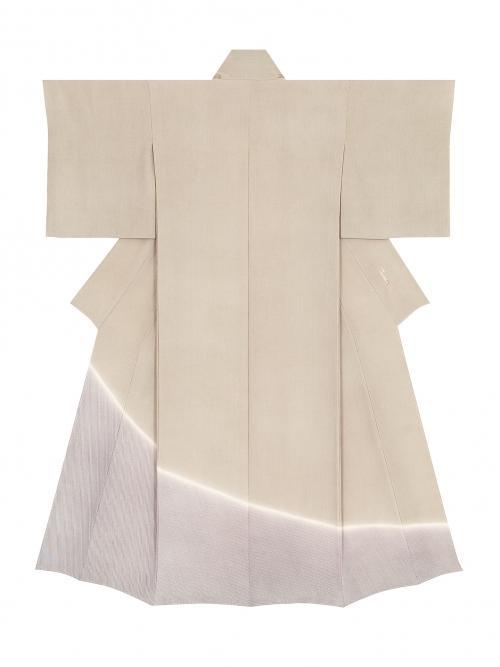写真:江戸小紋着物「薩摩左手綱と極譜立割」