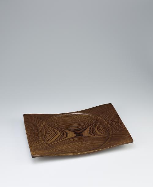 写真:欅造方盛器