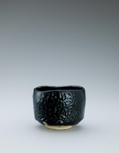 瀬戸黒茶盌