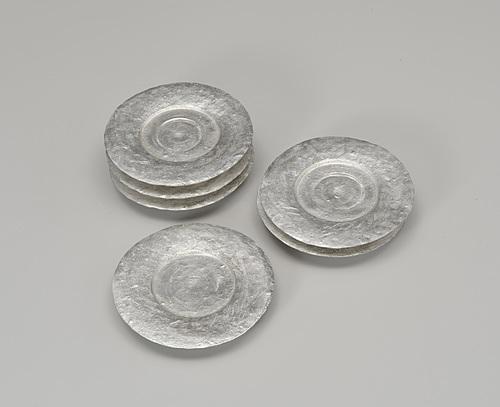 銀瓷碟(6客)