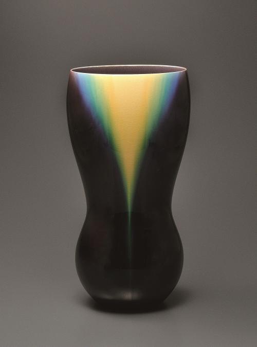 彩釉花器「光彩」