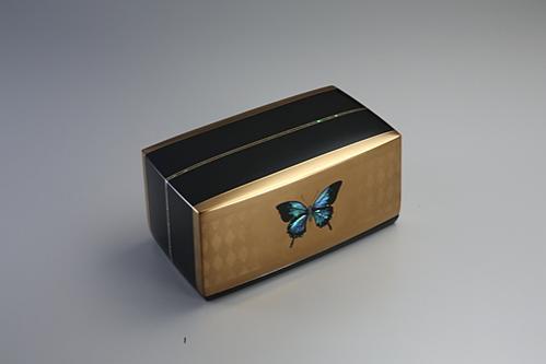 蒔絵箱「青い光」