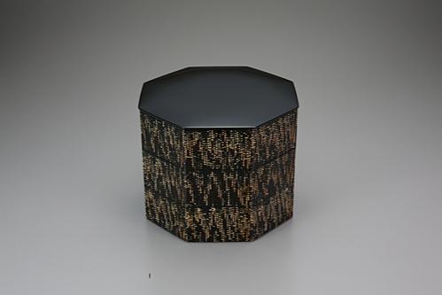 籃胎蒟醤重箱「縷縷」