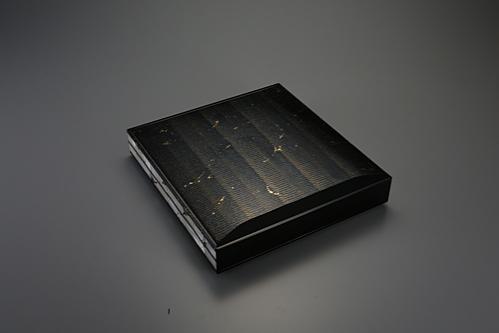 螺鈿蒔絵色紙箱「水面」