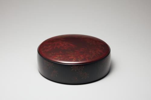 乾漆紅葉蒔絵筥