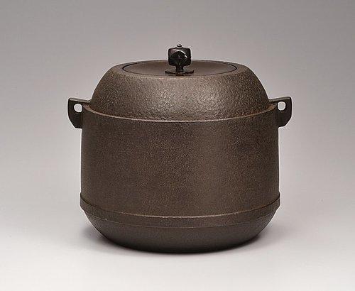 茶の湯釜「雪吹」