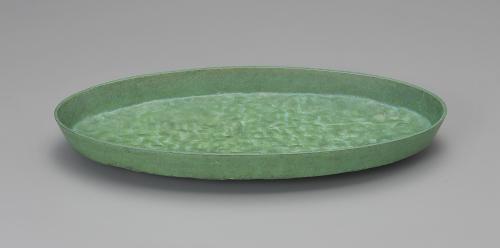 鋳青銅水盤「漣如」