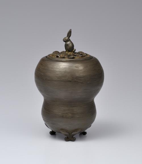 蠟型鋳銅香炉「春宵」