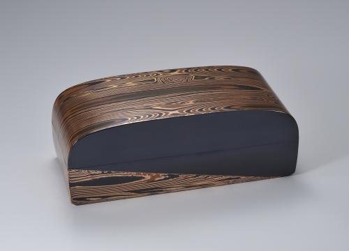 金銀銅杢目金板目長箱