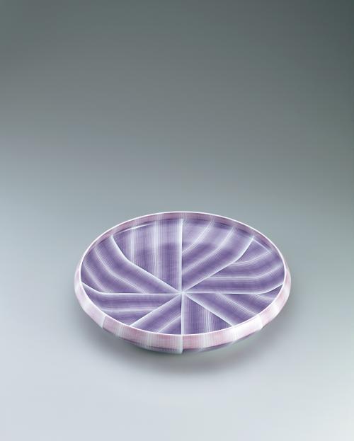 布染彩磁鉢