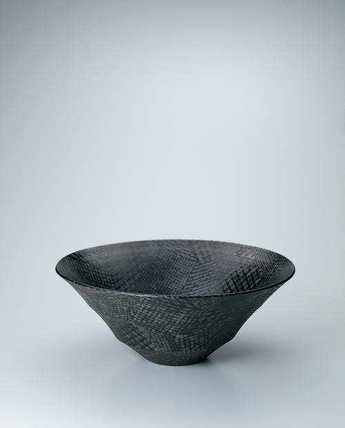 色絵銀彩鉢