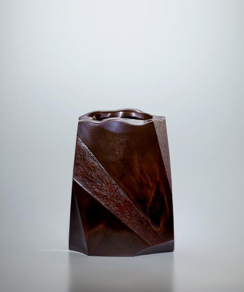鋳青銅花器「悠」