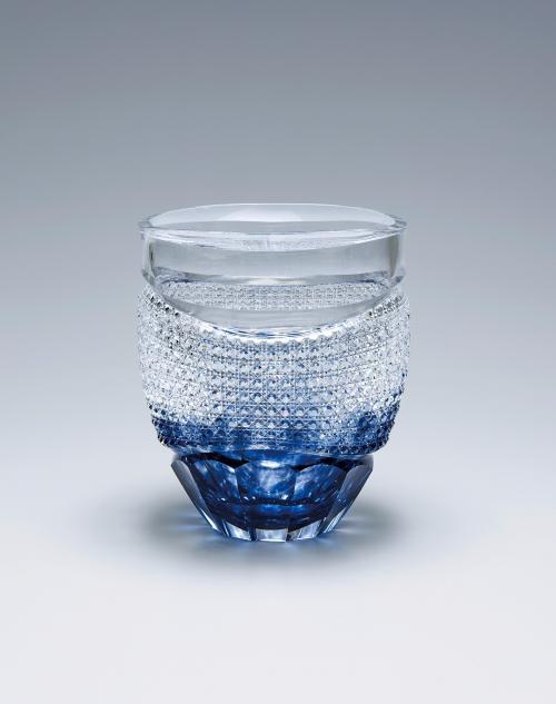 硝子切子花瓶