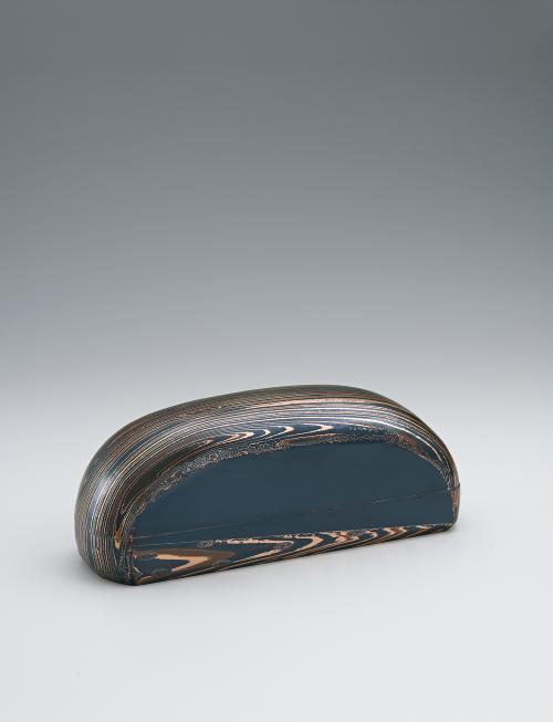 金銀銅杢目金板目鍛飾箱「包む」