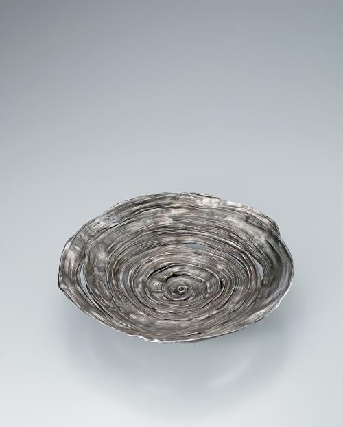 蠟型白銅盛器「うず潮」