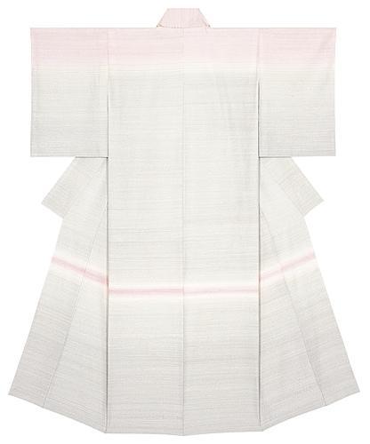 紬織着物「春の曙」