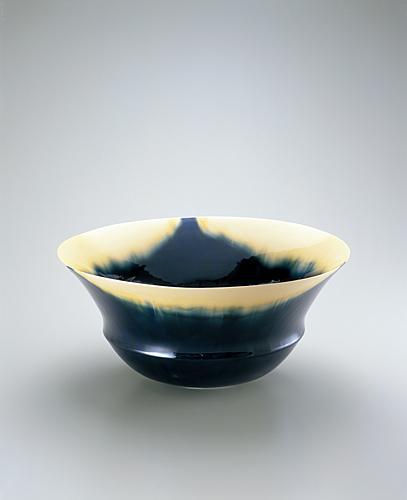 藍三彩「1502-1」