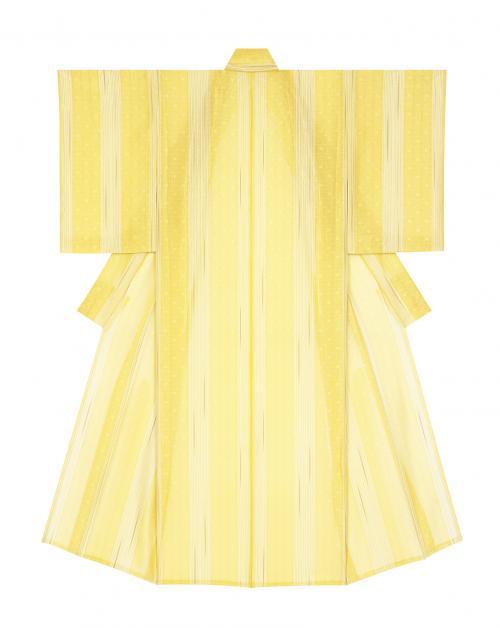 縠織着物「光のパイプオルガン」