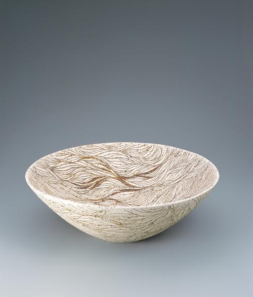 糸釉彩大鉢