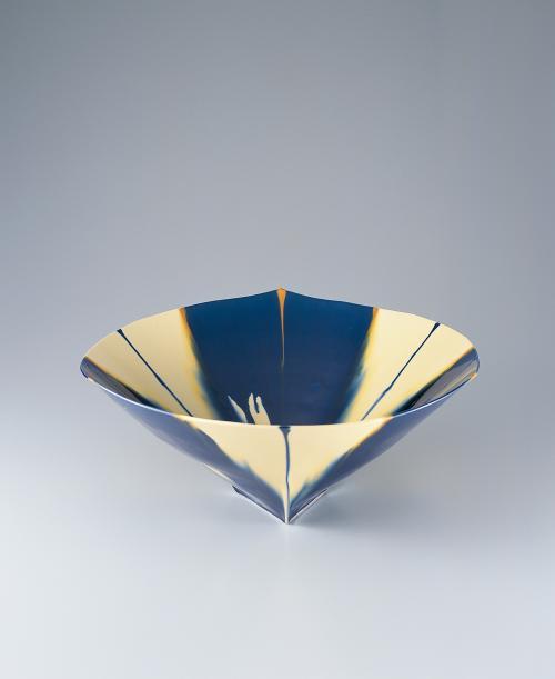 藍三彩「1802」