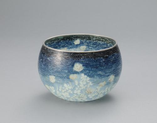 省胎七宝鉢「シロツメクサ」