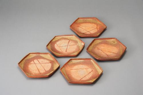 六角組皿(5枚)