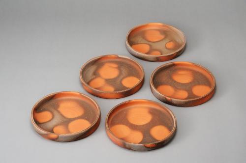 備前銅鑼鉢(5客)