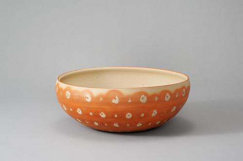 備前緋紋鉄鉢