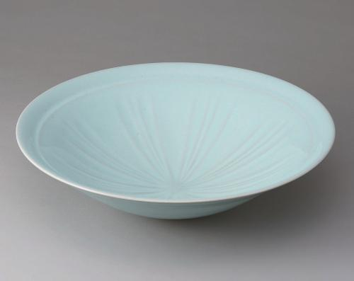 青磁しのぎ鉢