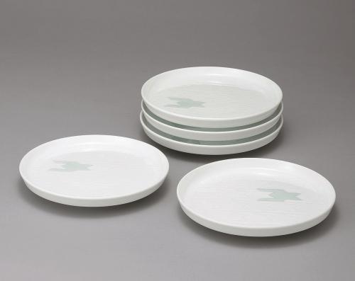 白磁千鳥文皿
