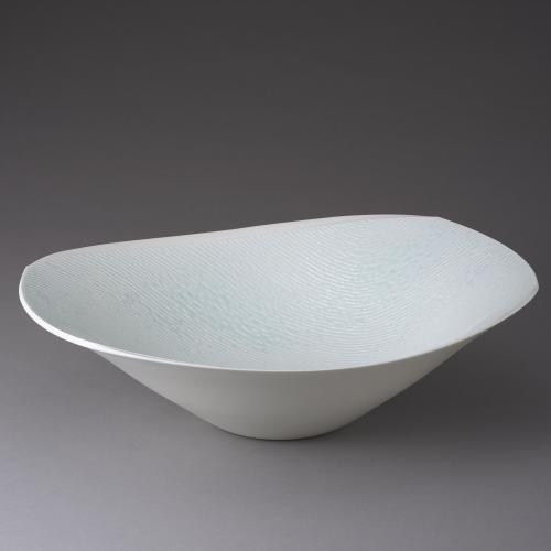 釉彩文青白磁鉢