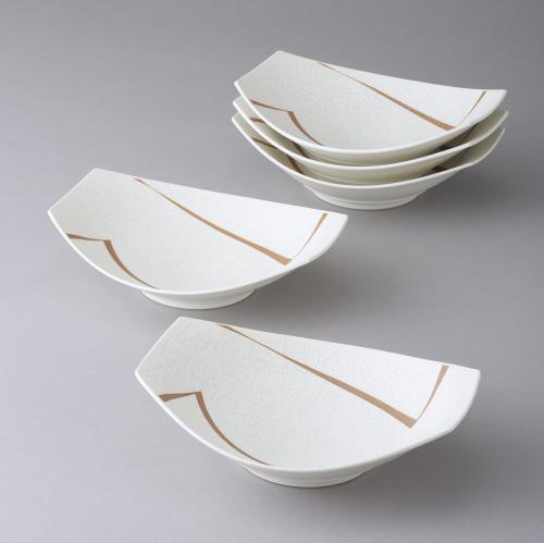 白磁象嵌鉢