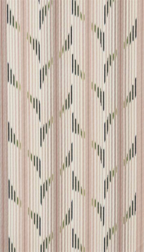 小倉織絣入帯「山鳴」
